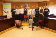 Donación Bomberos Poniente SIPE Baby Rescuer