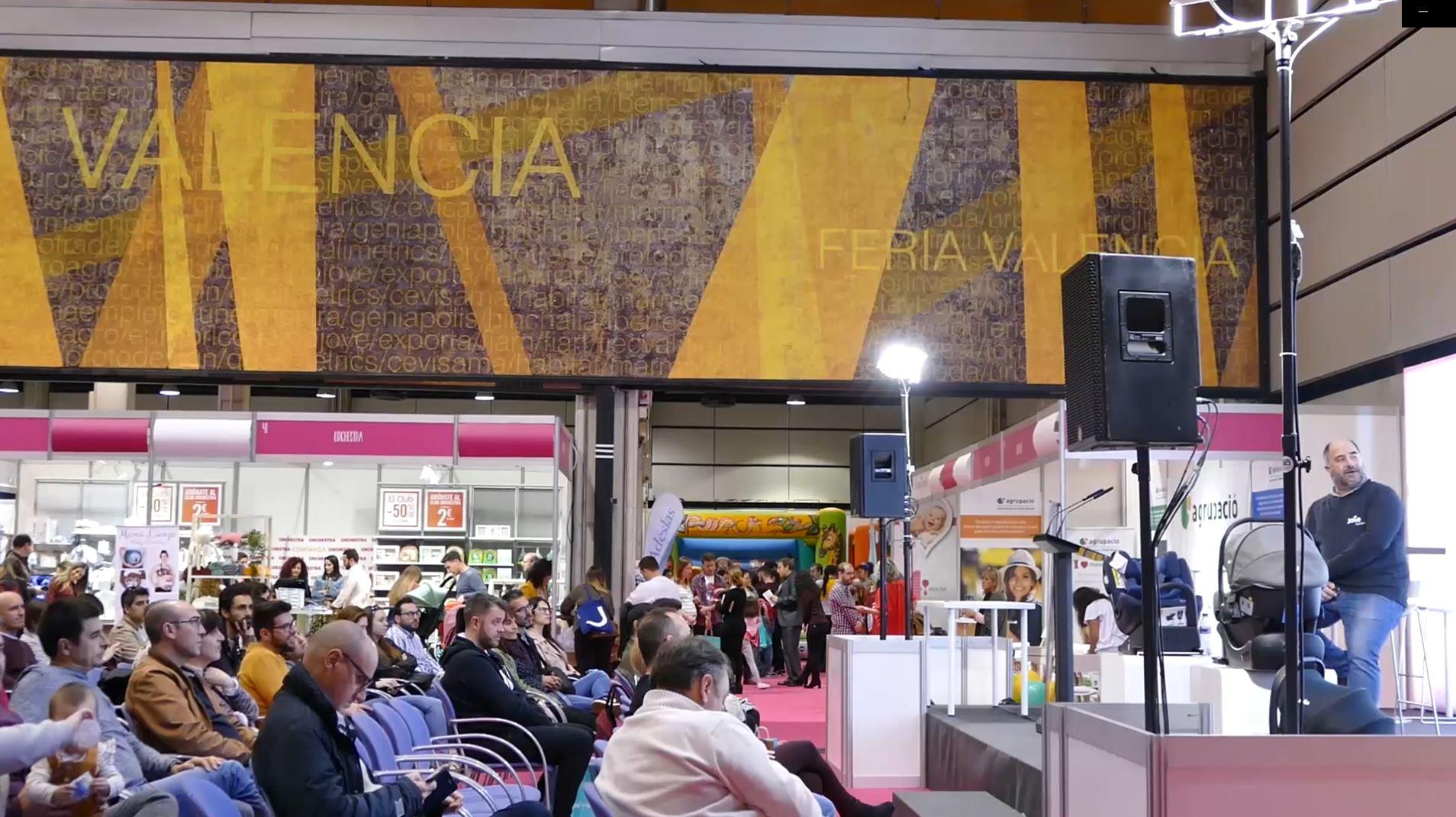 Gran éxito de asistencia a las conferencias de Seguridad Vial Infantil en Feria Bebé Valencia
