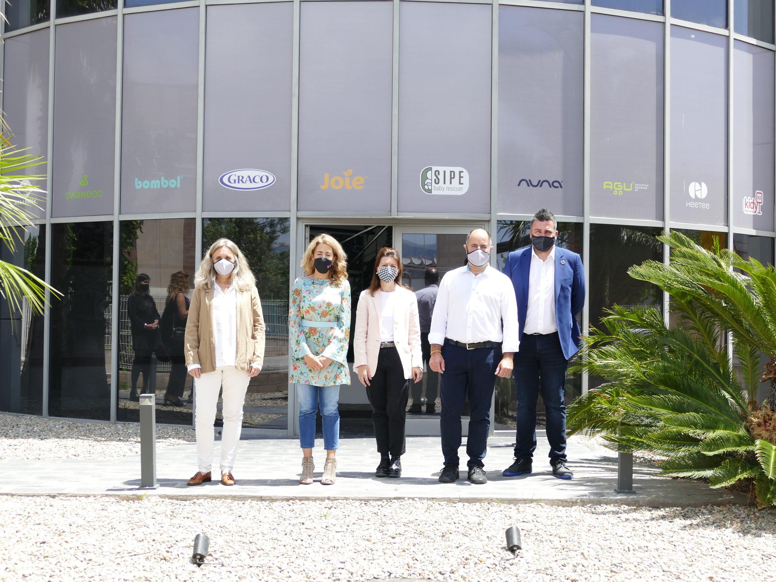 La alcaldesa de Gavà visita las instalaciones de Smart Group – Fundación Smart Baby